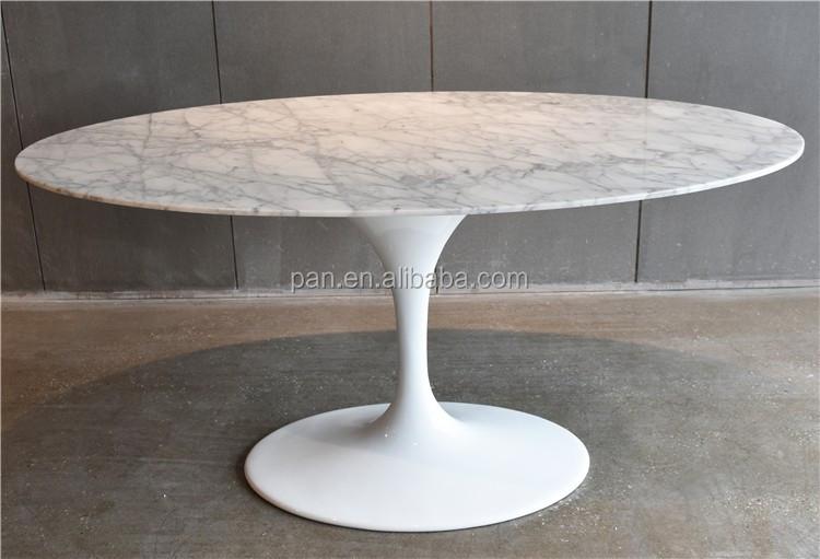 Tavolo Ovale Bianco : Classic modern tavoli da pranzo eero saarinen ovale bianco marmo