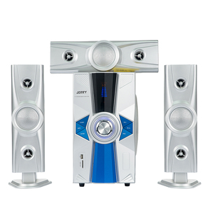 High quality good sound 3.1 inch multimedia active home cinema usb fm radio speaker system with full functions