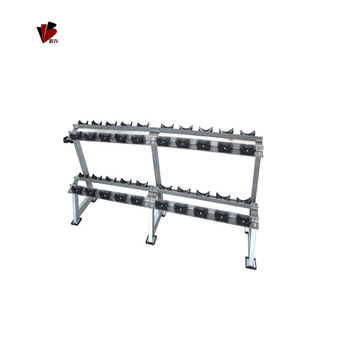 2 camada construir dumbbell rack