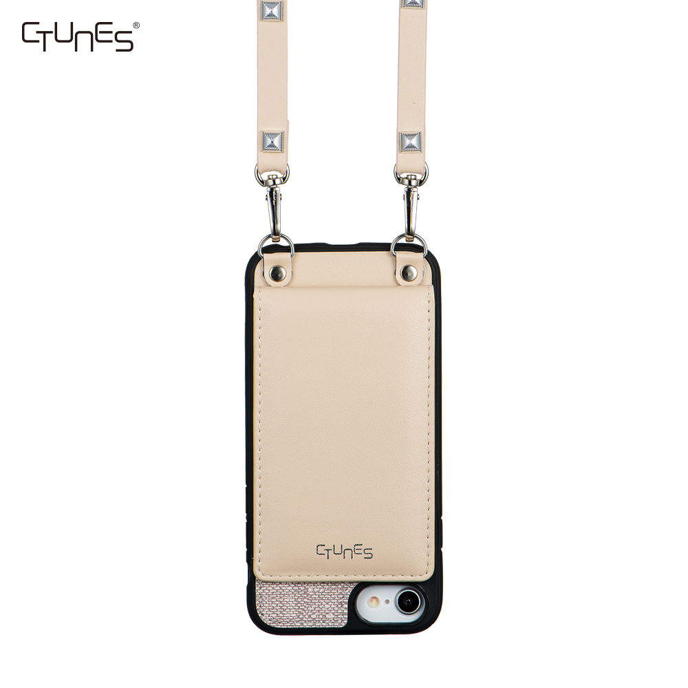 sneakers for cheap 8b7f1 c1916 C&t Crossbody Shoulder Chain Strap Pu Leather Wallet Case With Card Holder  For Apple Iphone 6s Plus - Buy For Crossbody Iphone Case,Leather ...