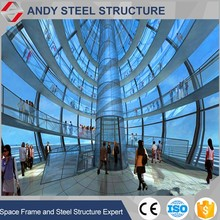 Steel Structure Prefabricated Shopping Mall Exhibition Hall