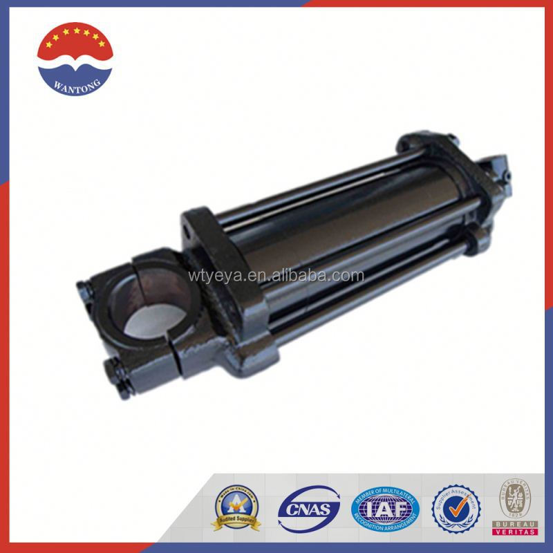 Tie Rod Hydraulic Cylinder With Rod End Clevis