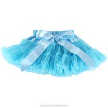 99a1f7b69f0 Красивые детские синий бутик Праздничная юбка-пачка для малышей фатиновая  юбка-пачка танцевальные