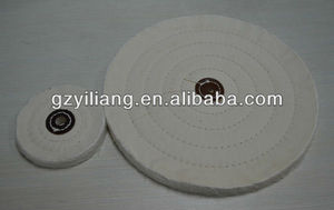 4 inch stitched cloth polishing wheel for jewelery/hardware/copper fine mirror polishing.