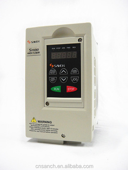 Sanch S1100 5.5kw ISO/CE Certificated general purpose 380v~440v 3 phase ac variable frequency drive vfd/vsd