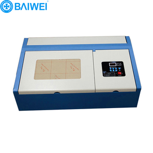 nylon rubber stamp making machine/mini laser cutter 40w