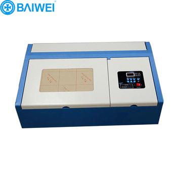 Nylon Rubber Stamp Making Machine Mini Laser Cutter 40w