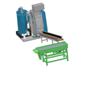Wire Cable Recycling Granulator Machines used for Copper & Plastic Recovery