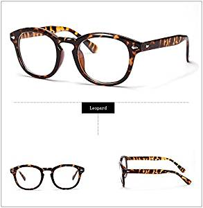 533905430d8 Get Quotations · 365Cor(TM)Retro Designer Eyeglasses Frames With Clear Lens  johnny depp glasses Optical Degree