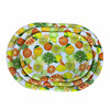 household daily storage plastic plate, plastic serving tray