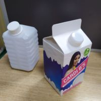 custom drink box with 500ml bottle with box