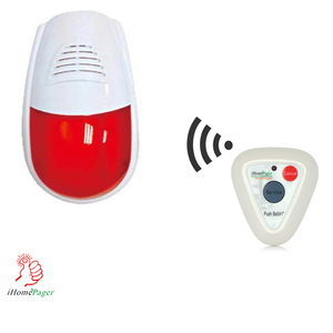wireless home or hospital toilet SOS emergency fire alarm system