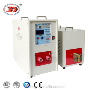 Induction Heating Machine 50kw Copper Pipe continuous heat treatment furnace
