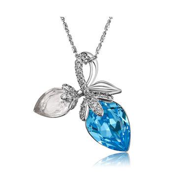 2f0ebaf3952 N65030004 xuping mode turc bijoux accessoires pour femmes collier fait avec  des cristaux de Swarovski pour