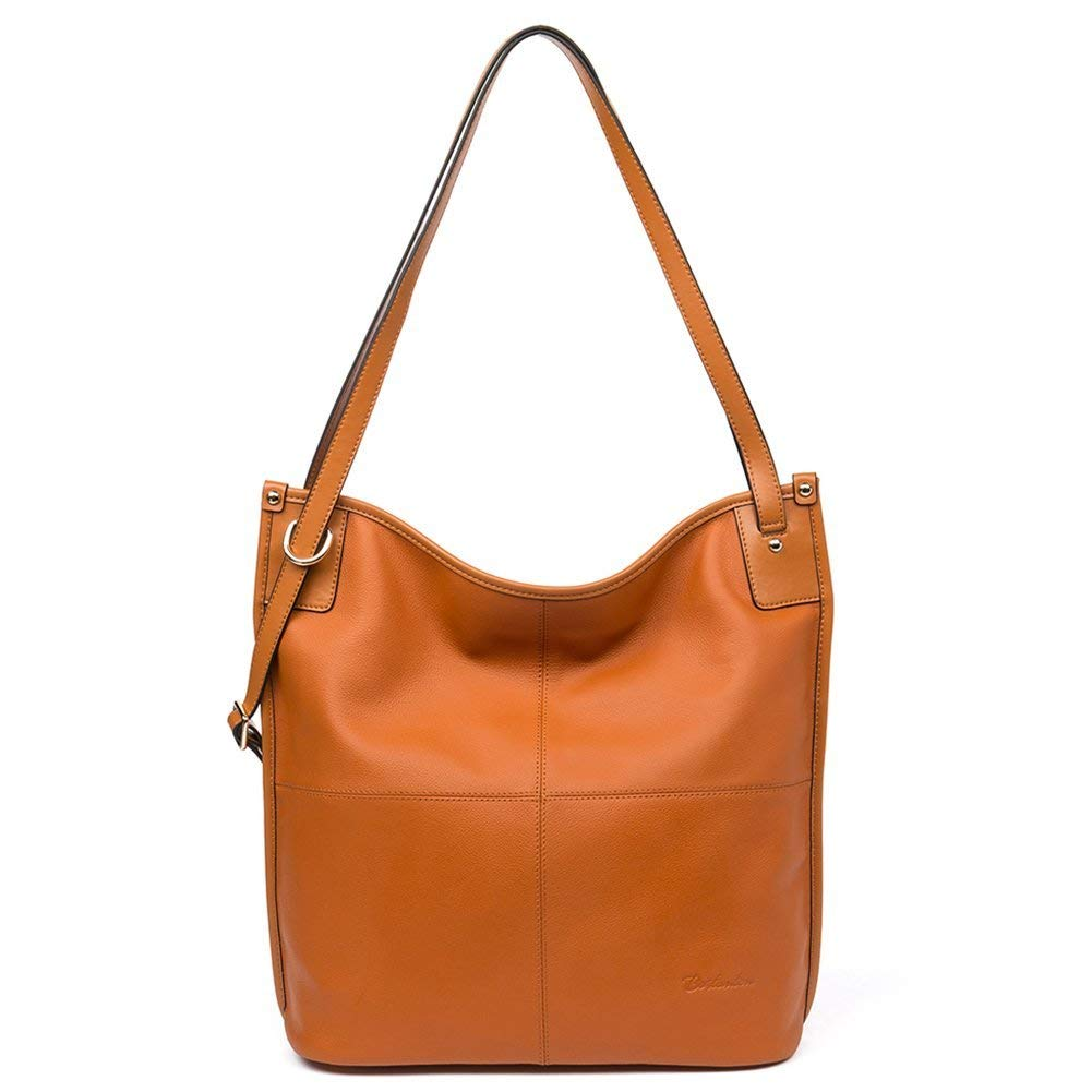c9ec5cf275c4a1 Get Quotations · BOSTANTEN Women Leather Hobo Handbags Tote Purse Top-handle  Shoulder Bag on Sale