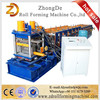 High Quality Color Steel C Purline Roll Forming Machine / Z Profile Roll Forming Machine With Low Price