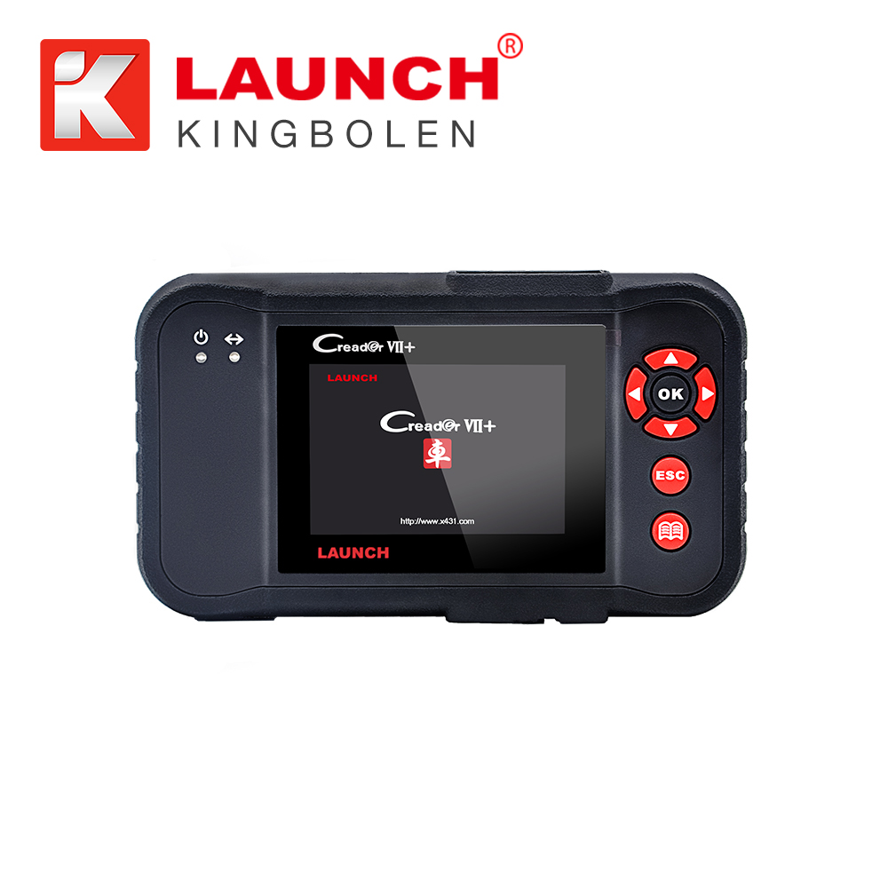 New LAUNCH Creader 7+ Code Scanner Creader VII+ Support Multi Brand Diagnostic Tool auto Diagnostic Software