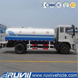 New 175hp 4x2 Ruvii Vehicle 2016 Water Tank truck 12cbm (2016)