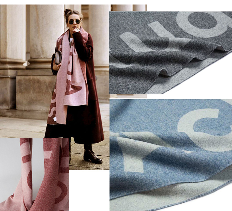 low price stock winter cashmere woolen scarf  scarves jacquard pashmina jacquard