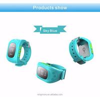 2016 Best sale Children GPS Watch Children Smart Watch Phone GPS Tracking Kids Watch Distance and SOS