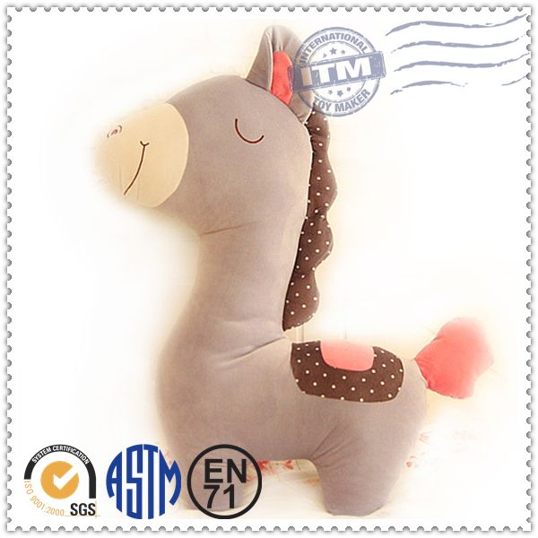 High quality competitive price singing plush horse toy