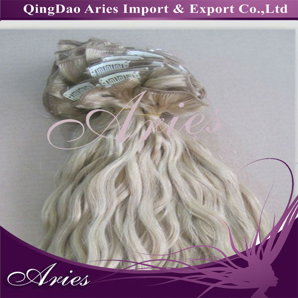 "Euronext 18"" Clip-In Human Hair Extensions"