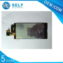 China supplier fast delivery Full Touch Digitizer+LCD Screen Display for Sony M5 lcd screen