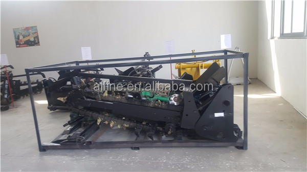 CE approved good performance trencher for tractor