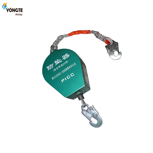 High quality industrial safety equipment retractable type 3M-40M fall arrester