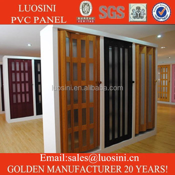 Plastic Folding Door For Interior Decoration From Professional