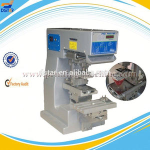 DX-MINI desktop Sealed cup tampo printing machine 1-Colour pad printer tampography printing machine by Dstar Machine Co.,ltd