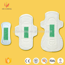 Negative ion sanitary napkin for female with factory price