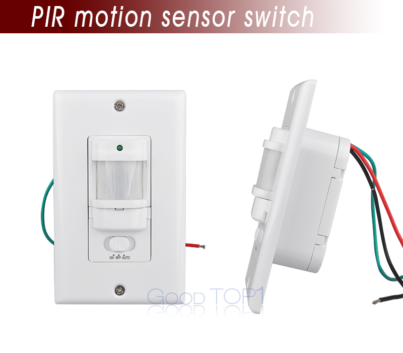 Sound And Light Control Delay Motion Sensor Switch For: 110V 240V PIR Infrared Motion Sensor/detector Light Switch