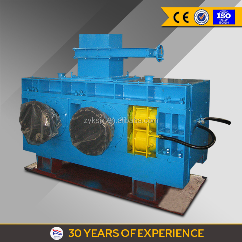 China Coal Dust Hydraulic Roll type Briquette Ball Press Machine