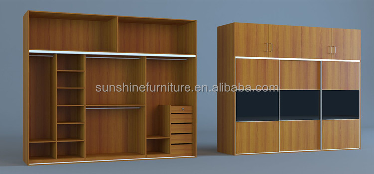 Design of wooden almirah in the wall roselawnlutheran for Drawing room almirah