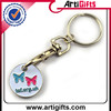 Custom logo metal famous brands car logo coin key chain
