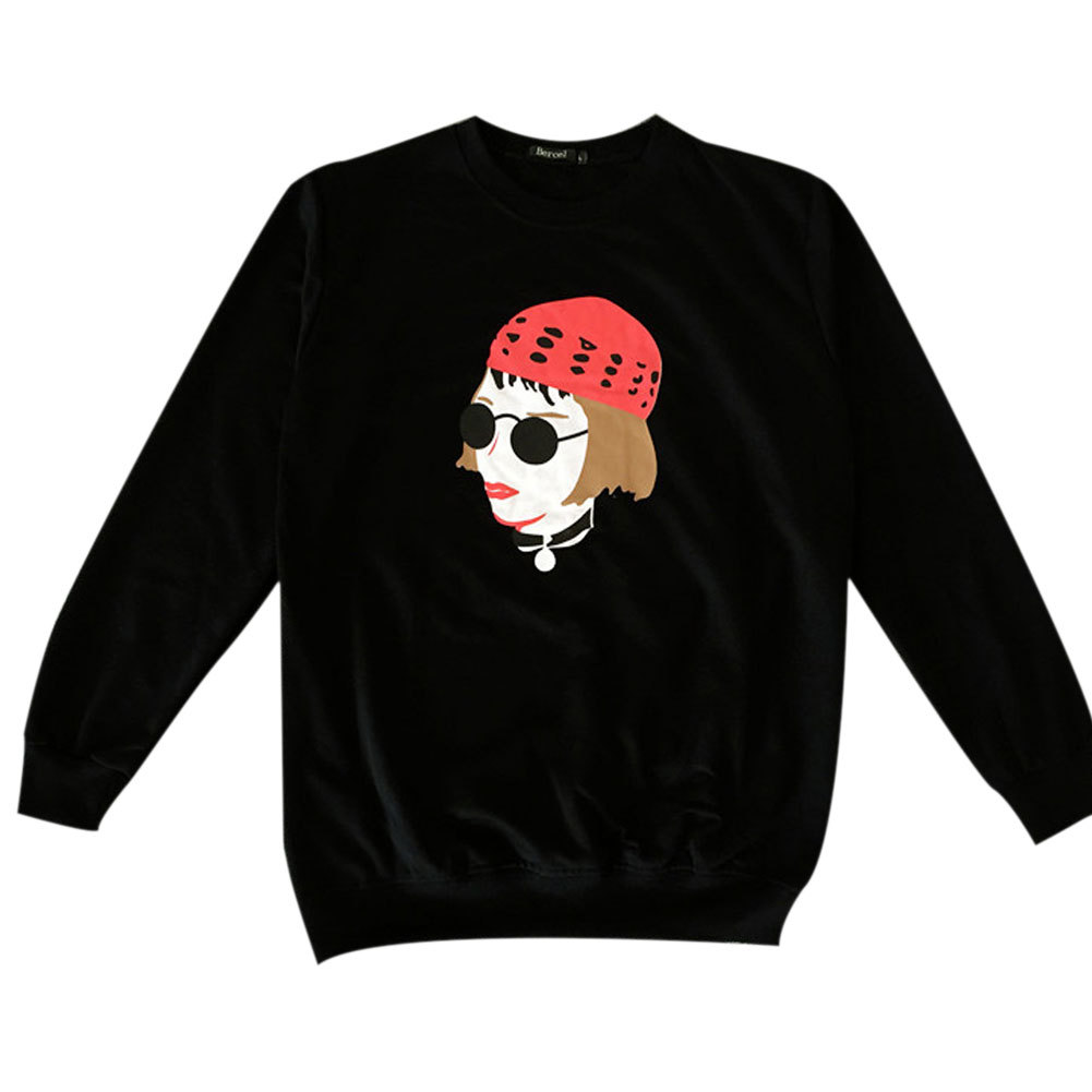 DTMN7 Elephant Funny Printed 100/% Cotton Sweatshirt For Youth Spring Autumn Winter