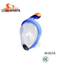 High quality easy breath diving full face snorkel mask