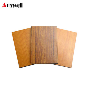 Amywell solid wooden waterproof phenolic resin hpl compact board