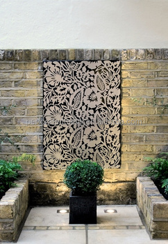 Laser Cut Screen Metal Wall Art