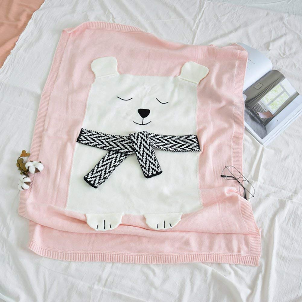 Blanket & Swaddling Baby Bedding Mimixiong Baby Swaddle Blanket Newborn Infant Girls Boys Cotton Woolen Bedding Blankets Knitted Soft Baby Bath Towels Play Mat Excellent In Cushion Effect