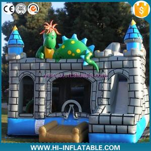 new design inflatable dinosaur bouncer, inflatable dinosaur bounce house, inflatable dinosaur jumping castal