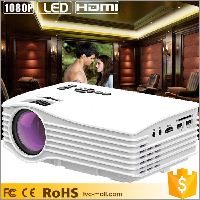 1080P FHD Portable Mini LED Video <strong>Projector</strong> with HDMI /USB /SD /AV