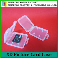 High quality portable Plastic Micro XD Storage case
