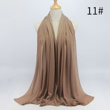 Cheap Wholesale Hot Hijab Sexy Women Premium Cotton Scarf Fashion Big Size Scarves Wraps Dubai Muslim Scarf