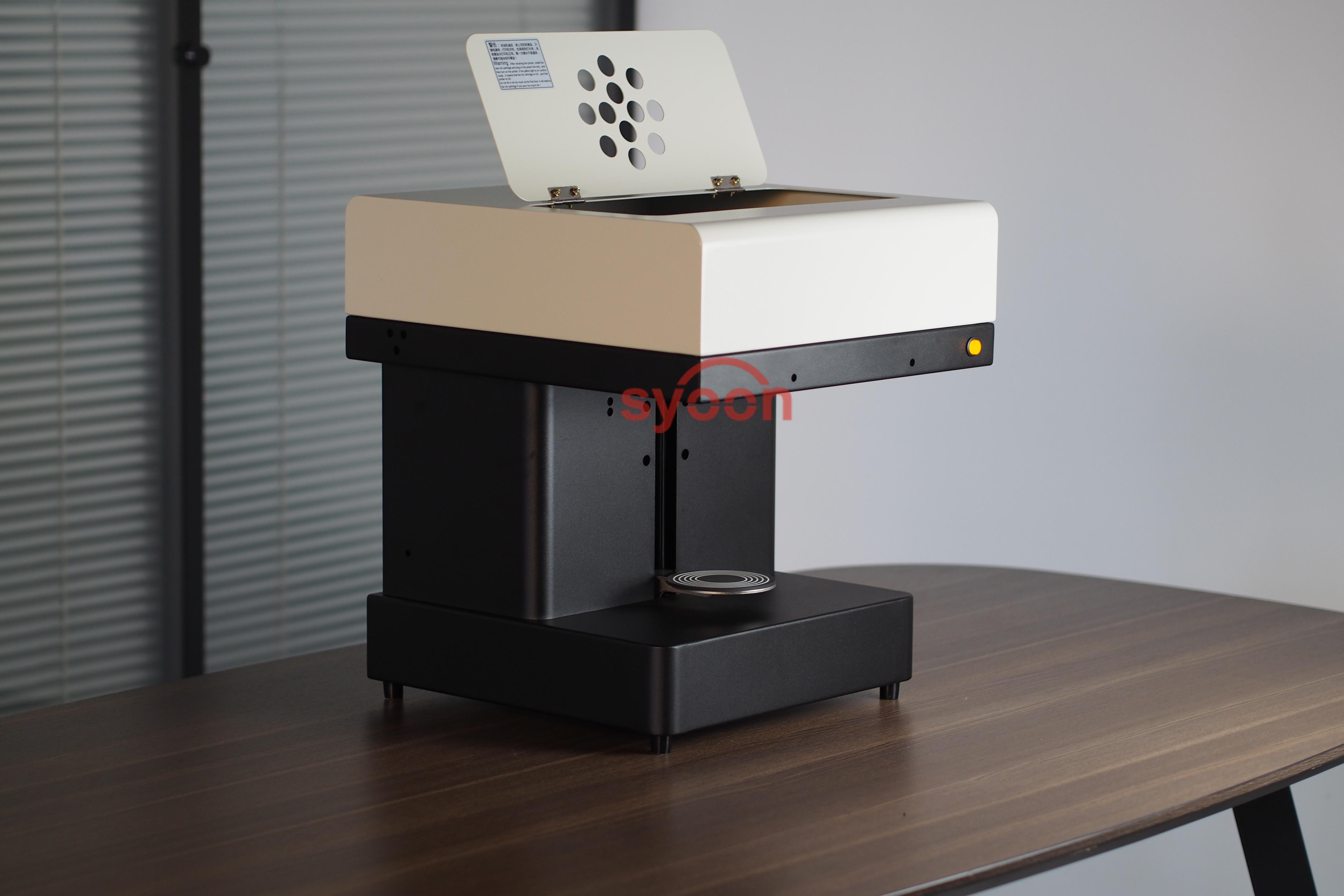 Fabrikant Art Koffie Drankjes Printer Voedsel Printer Chocolade Printer met Voedsel inkt Gratis Factory Supply met CE
