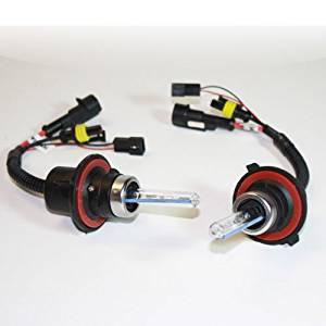 10000K H4 Dual-Beam Bi-Xenon SDX HID Xenon DC Headlight Replacement Bulbs