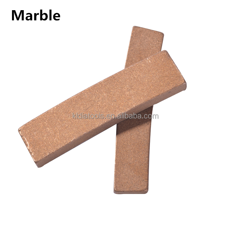 High grade marble stone cutting tool part circular diamond saw blade segment