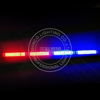 federal signal 12v multicolor rgb light bar for police car emergency vehicles