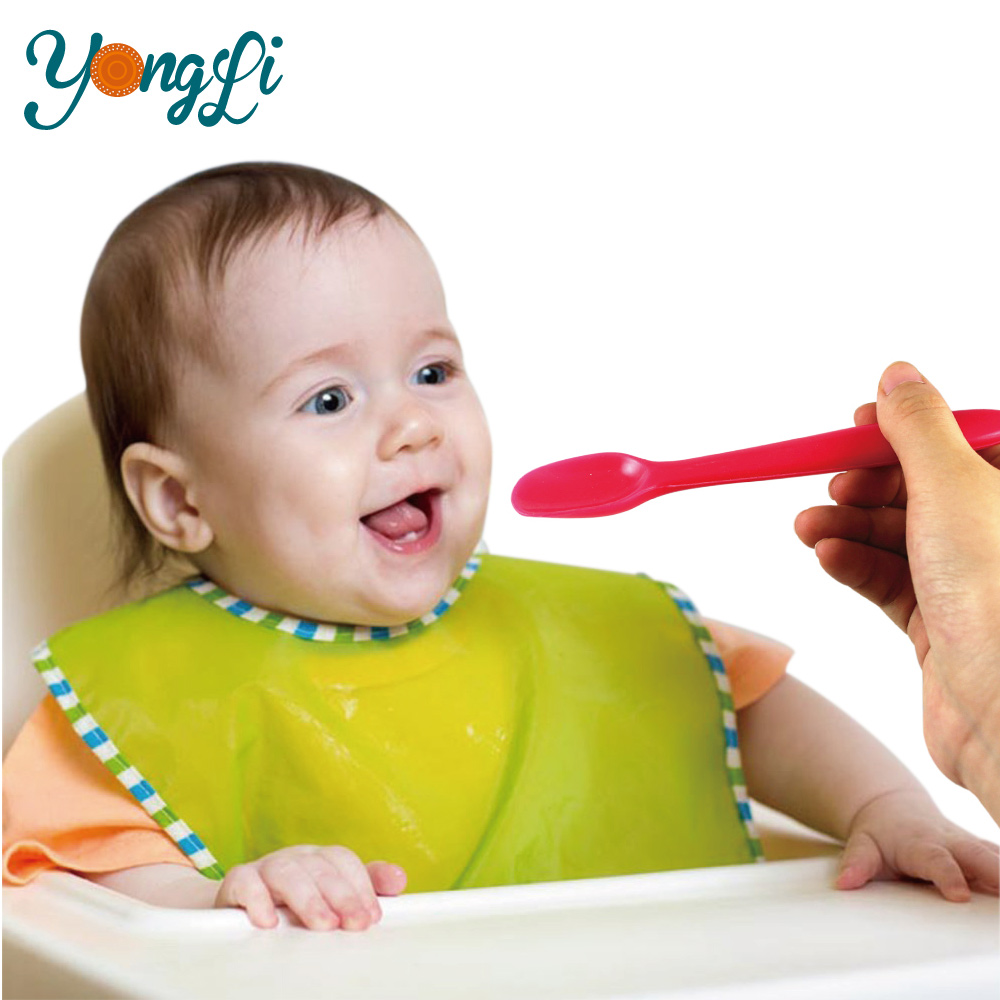 Purchase Change Color Silicone Baby Talking Spoon
